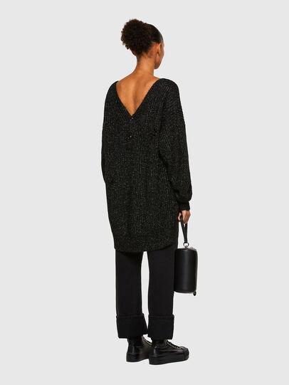 Diesel - M-CORAL, Black - Sweaters - Image 6