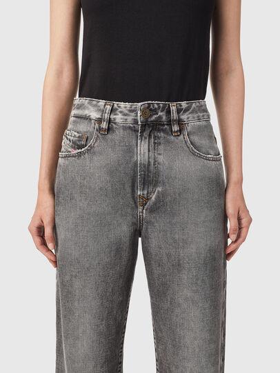 Diesel - D-Reggy Straight Jeans 09B13, Black/Dark grey - Jeans - Image 3