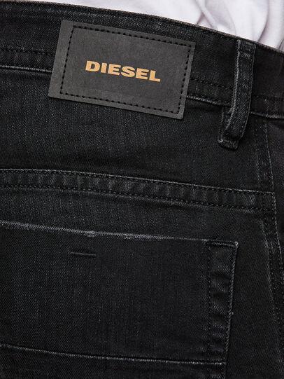 Diesel - Thommer Slim Jeans 069PW, Black/Dark Grey - Jeans - Image 4