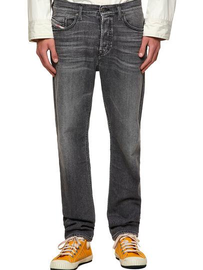 Diesel - D-Fining Tapered Jeans 09A11, Black/Dark Grey - Jeans - Image 1