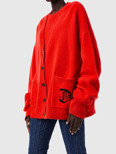 Diesel - M-LOUISIANA, Orange - Sweaters - Image 3