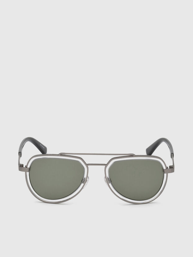 DL0266, Black/Grey - Sunglasses