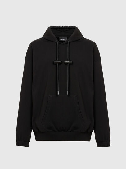 Diesel - S-BALIRIB, Black - Sweatshirts - Image 4