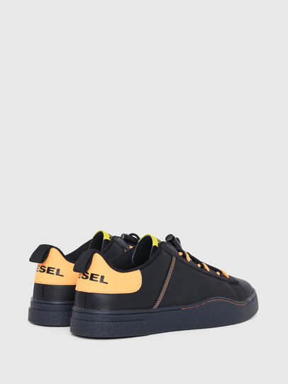 Diesel - S-CLEVER SO C, Black/Yellow - Sneakers - Image 3