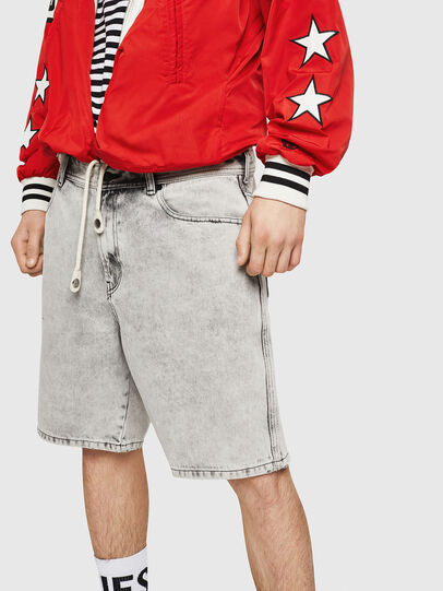 Diesel - D-WILLOH, Light Grey - Shorts - Image 4