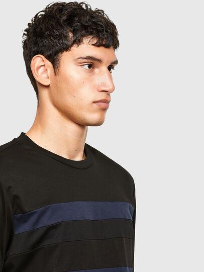 Diesel - T-LOUD, Black - T-Shirts - Image 4