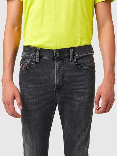 Diesel - D-Istort Skinny Jeans 069YC, Black/Dark grey - Jeans - Image 3