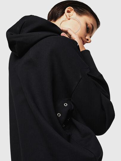 Diesel - F-MAG, Black - Sweatshirts - Image 5