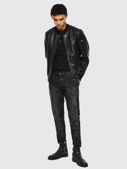Diesel - D-Strukt 069KE, Black/Dark Grey - Jeans - Image 7