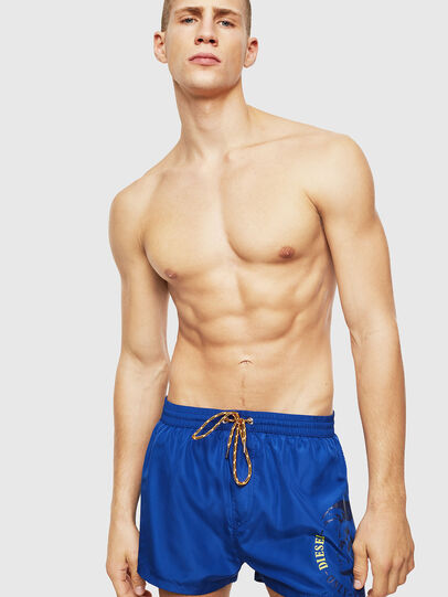 Diesel - BMBX-SANDY 2.017, Blue - Swim shorts - Image 1