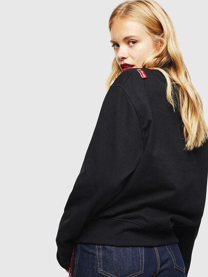 Diesel - CC-S-BAY-COLA, Black - Sweatshirts - Image 4