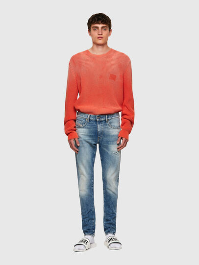 Diesel - D-Strukt Slim Jeans 009MW, Medium Blue - Jeans - Image 5