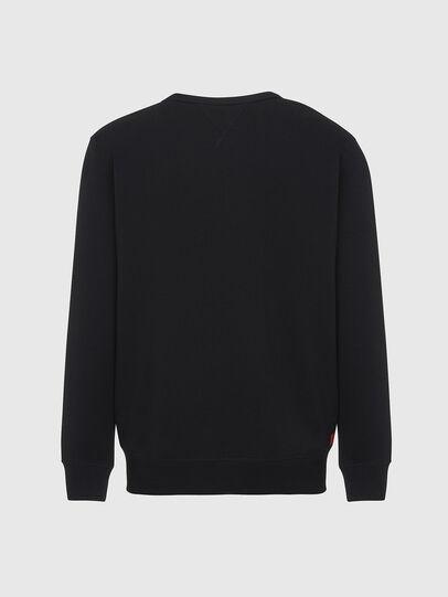 Diesel - UMLT-WILLY, Black - Sweatshirts - Image 2