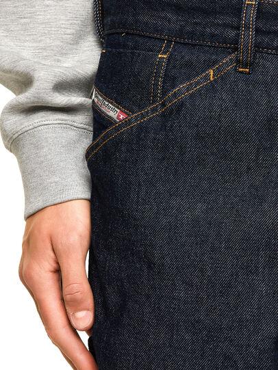 Diesel - D-Franky Straight Jeans 009HP, Dark Blue - Jeans - Image 3