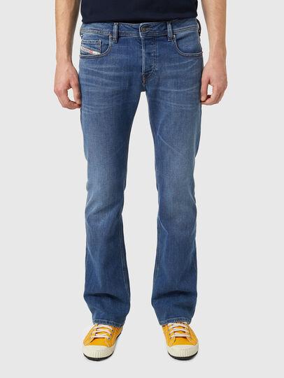 Diesel - Zatiny Bootcut Jeans 09A80, Medium Blue - Jeans - Image 1