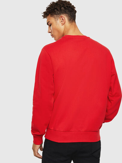 Diesel - S-GIRK-J2, Red - Sweatshirts - Image 2