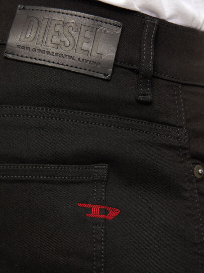 Diesel - D-Istort Skinny Jeans 069EF, Black/Dark Grey - Jeans - Image 4