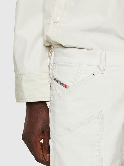 Diesel - D-Franky Straight Jeans 009ZJ, White - Jeans - Image 5