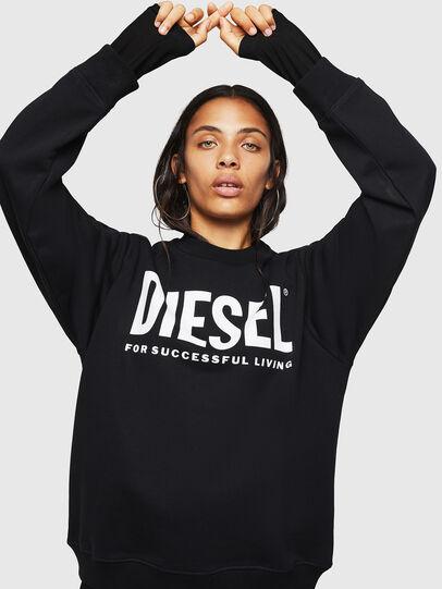 Diesel - F-ANG, Black - Sweatshirts - Image 1