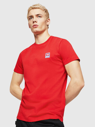 Diesel - T-DIEGO-DIV, Fire Red - T-Shirts - Image 4