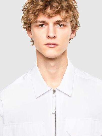 Diesel - S-KULT, White - Shirts - Image 3