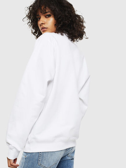 Diesel - F-ANG-S1, White - Sweatshirts - Image 2