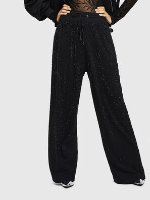P-STRASS-C, Black - Pants