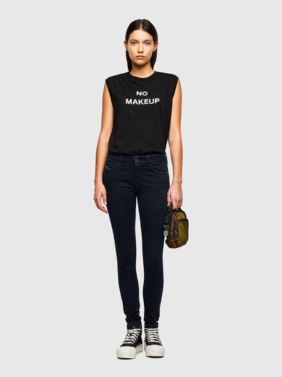 Diesel - Slandy Skinny Jeans 009PV, Dark Blue - Jeans - Image 5