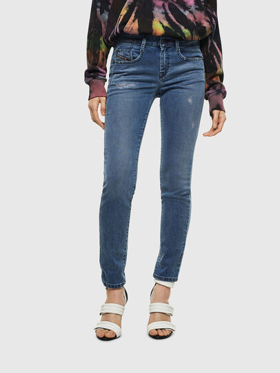 Diesel - D-Ollies Slim JoggJeans® 069MC, Medium Blue - Jeans - Image 1