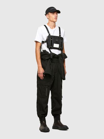 Diesel - DRESSLEK WF, Black - Crossbody Bags - Image 6