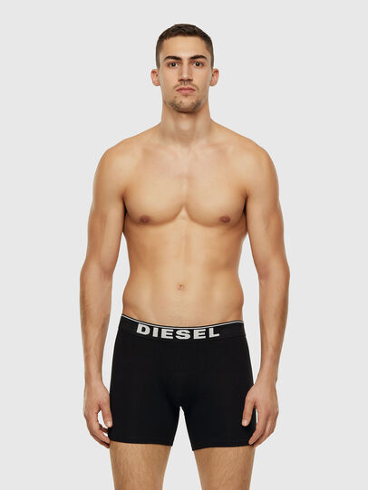 Diesel - UMBX-SEBASTIANTHREEP, Black/White - Boxer briefs - Image 2