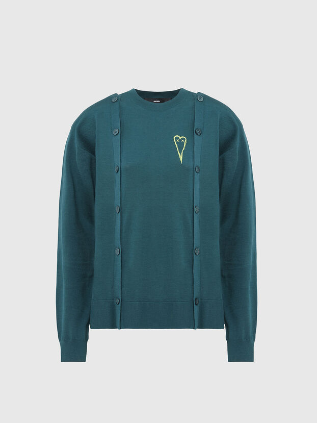 M-MIRANDA, Water Green - Sweaters