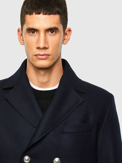 Diesel - W-ODER, Dark Blue - Winter Jackets - Image 3