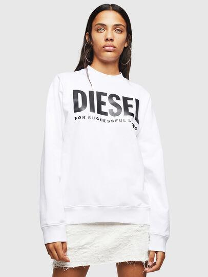Diesel - F-ANG, White - Sweatshirts - Image 1