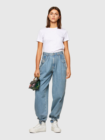 Diesel - D-Concias Boyfriend Jeans 009RQ, Light Blue - Jeans - Image 6