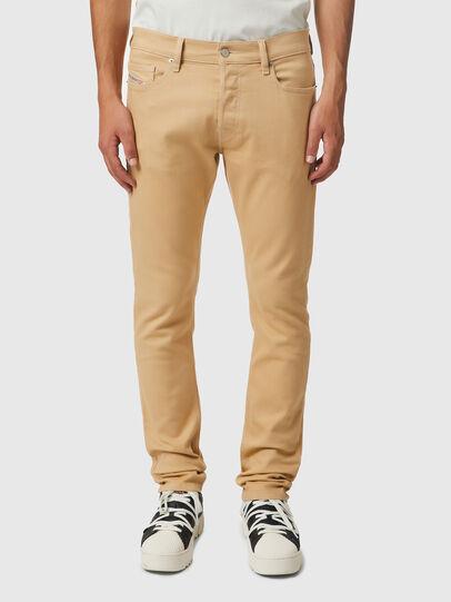 Diesel - D-Luster Slim Jeans 009HA, Light Brown - Jeans - Image 1