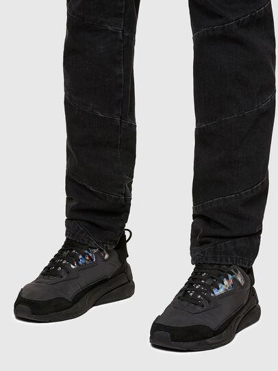 Diesel - D-Kras Slim Jeans 009RC, Black/Dark Grey - Jeans - Image 5