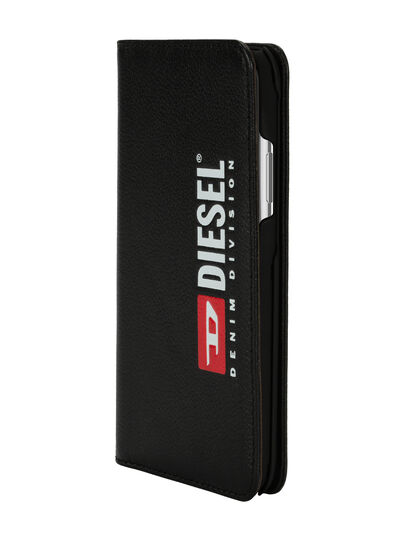 Diesel - DIESEL 2-IN-1 FOLIO CASE FOR IPHONE XS MAX, Black - Flip covers - Image 3