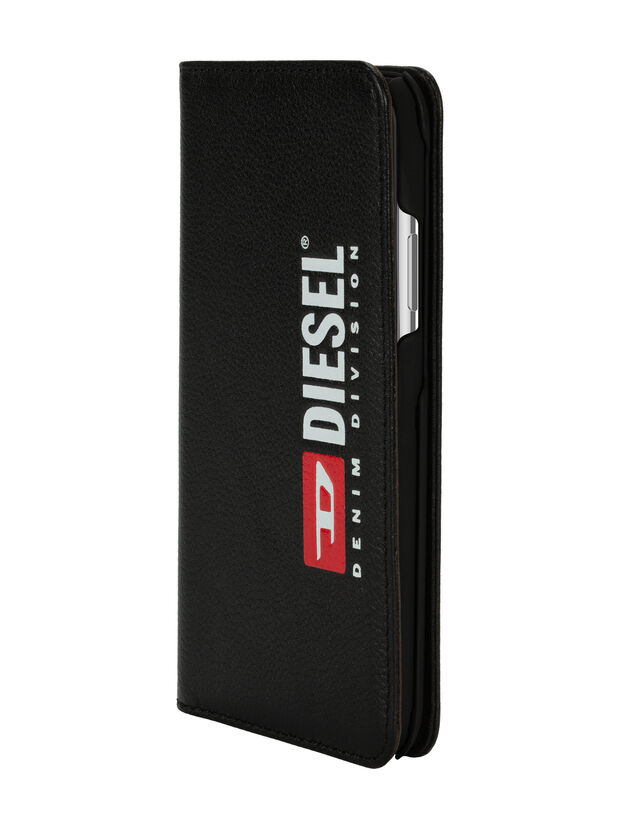 DIESEL 2-IN-1 FOLIO CASE FOR IPHONE XS MAX, Black - Flip covers