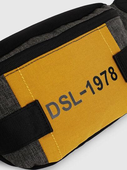 Diesel - FELTRE, Black/Yellow - Belt bags - Image 4