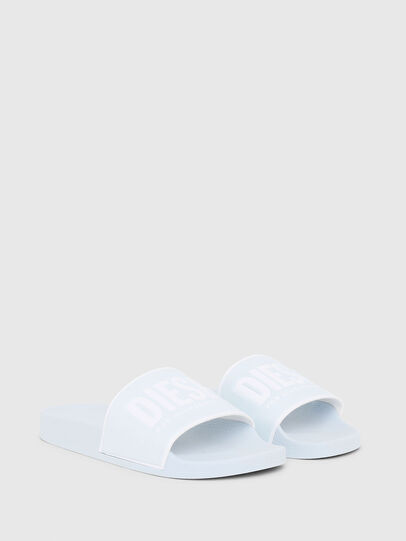 Diesel - SA-VALLA W, Light Blue - Slippers - Image 2
