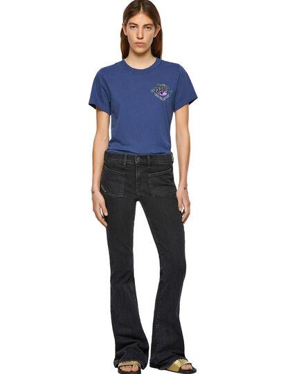 Diesel - D-Ebbey Bootcut Jeans 09A66, Black/Dark Grey - Jeans - Image 5