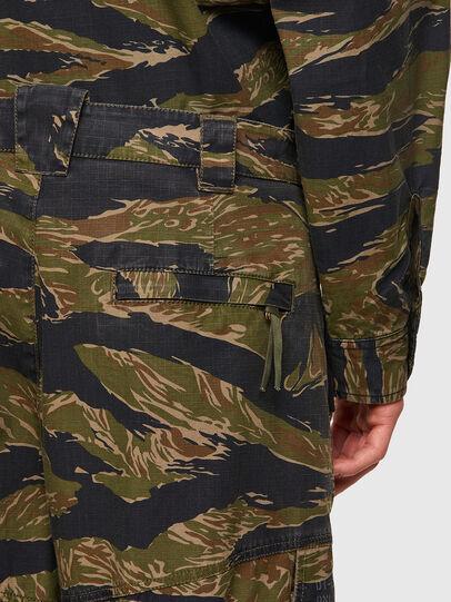 Diesel - P-BARTON, Verde Militar - Pantalones - Image 3