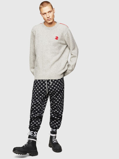 Diesel - K-CASY, Light Grey - Sweaters - Image 5