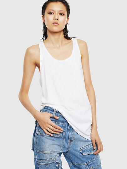 Diesel - T-KELLY-B, White - T-Shirts - Image 1