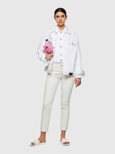 Diesel - D-Rifty Slim Jeans 009VU, White - Jeans - Image 5