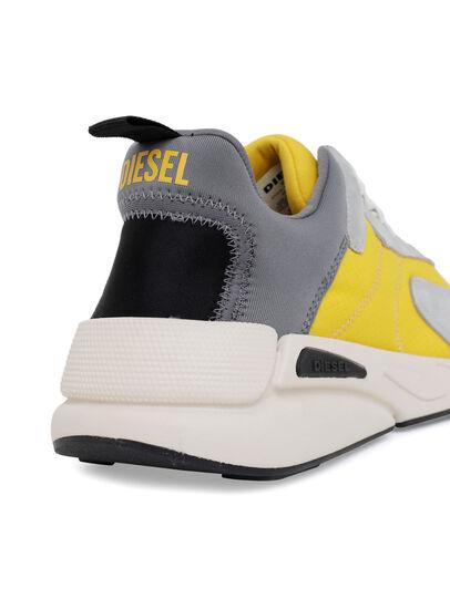 Diesel - S-SERENDIPITY LOW CU, Grey/Yellow - Sneakers - Image 5