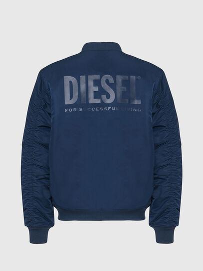 Diesel - J-ROSS-REV, Blue - Jackets - Image 2