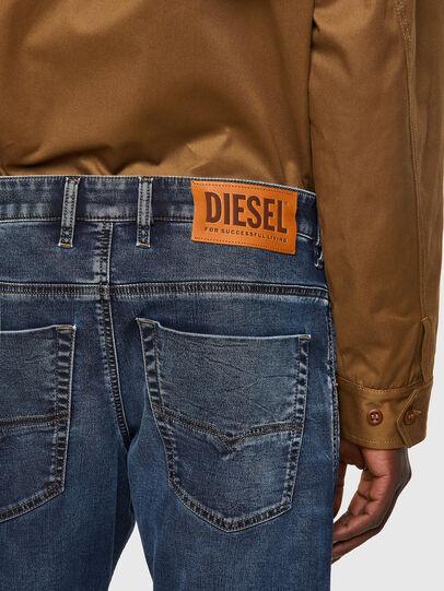Diesel - Krooley Tapered JoggJeans® 069VX, Dark Blue - Jeans - Image 3