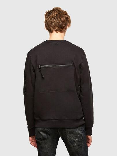 Diesel - S-IRIDIO, Black - Sweatshirts - Image 2
